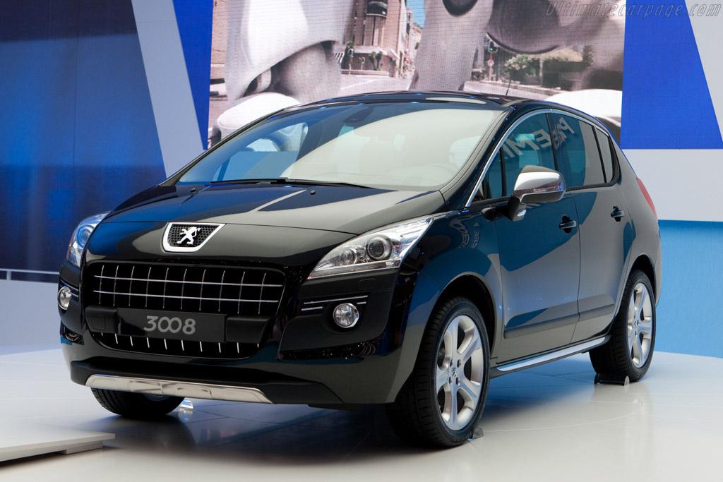 Peugeot 3008    - 2009 Geneva International Motor Show