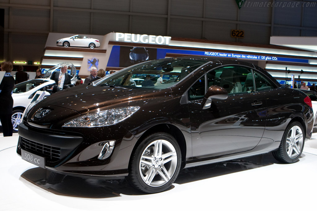 Peugeot 308 CC    - 2009 Geneva International Motor Show