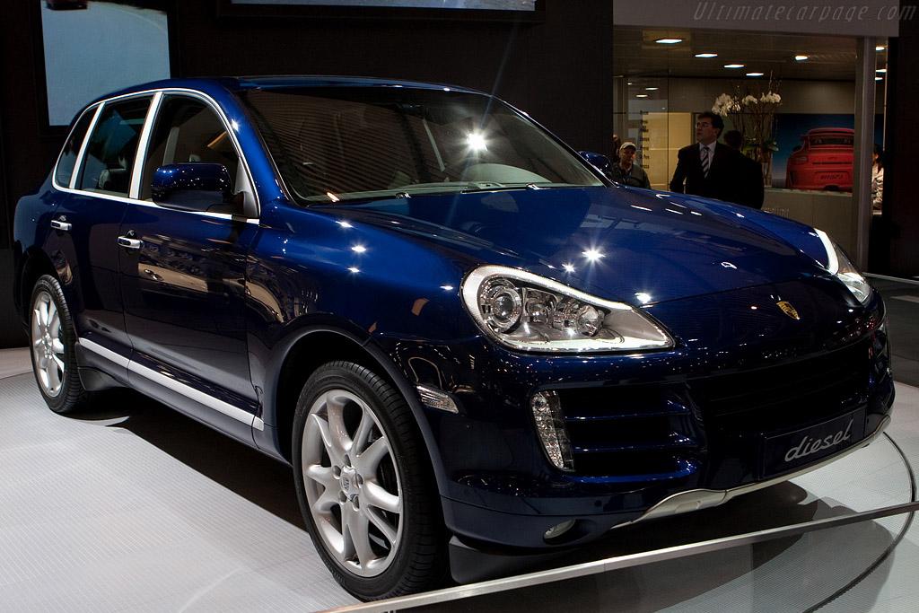 Porsche Cayenne Diesel    - 2009 Geneva International Motor Show