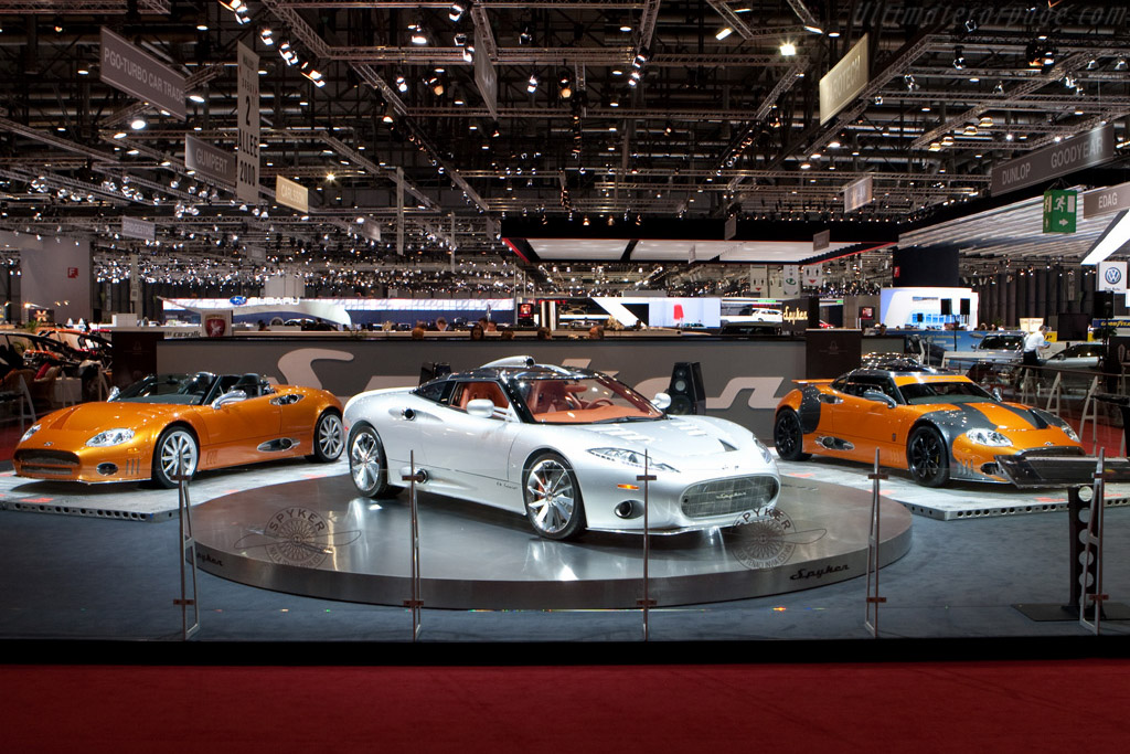 Spyker    - 2009 Geneva International Motor Show