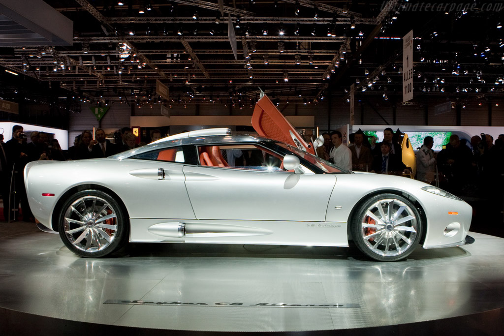 Spyker C8 Aileron    - 2009 Geneva International Motor Show