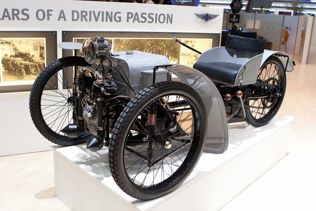 The first Morgan    - 2009 Geneva International Motor Show