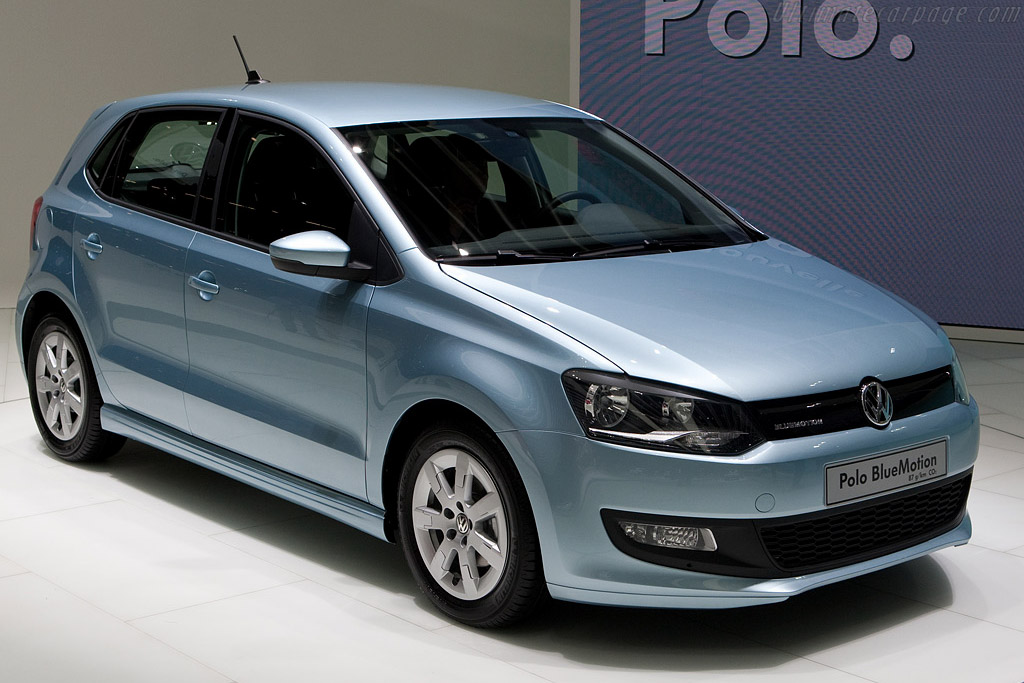 Volkswagen Polo Bluemotion Concept    - 2009 Geneva International Motor Show