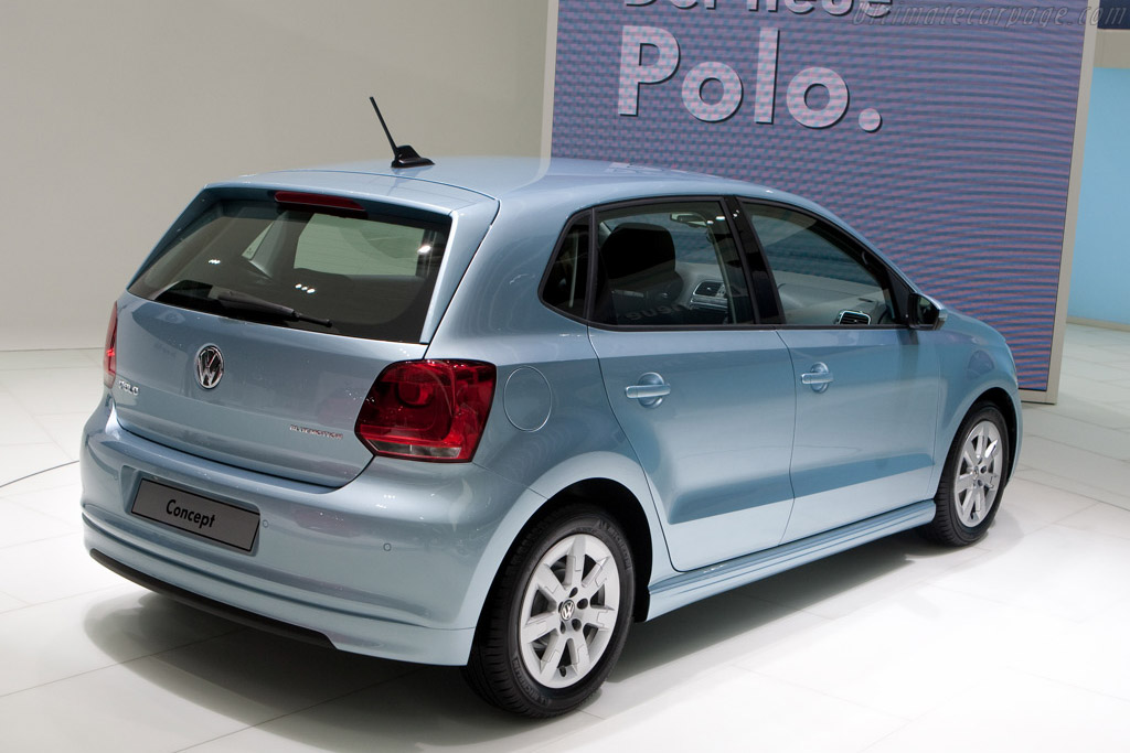 Volkswagen Polo Bluemotion Concept    - 2009 Geneva International Motor Show