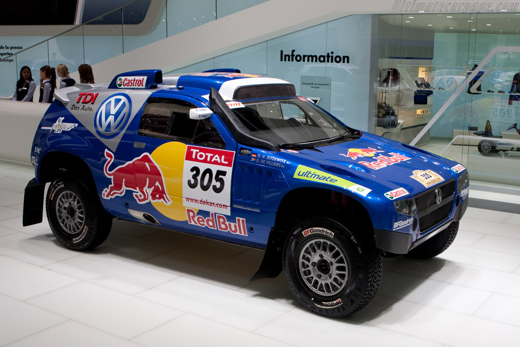 Volkswagen Race Touareg T2    - 2009 Geneva International Motor Show