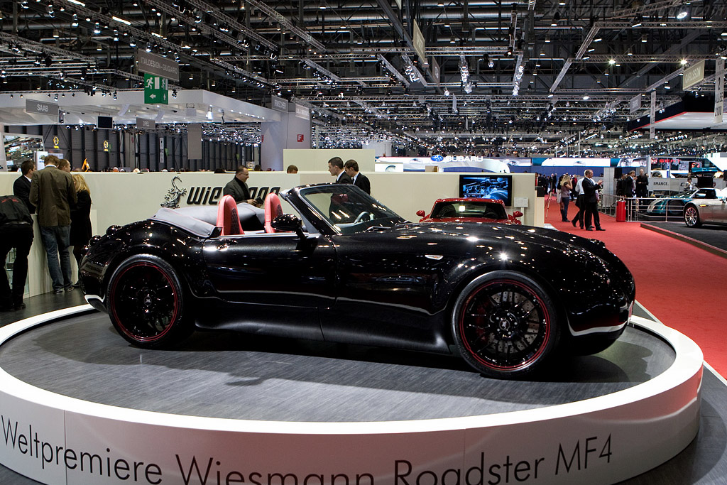 Wiesmann MF4 Roadster    - 2009 Geneva International Motor Show