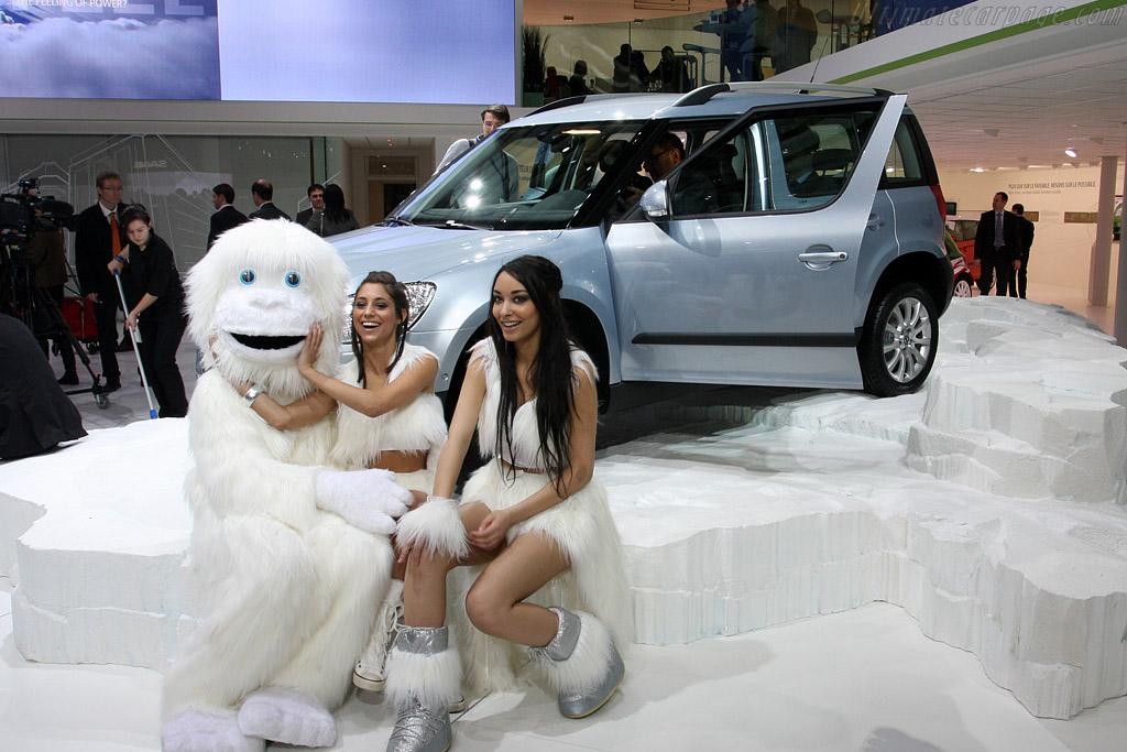 Yeti Sighting    - 2009 Geneva International Motor Show