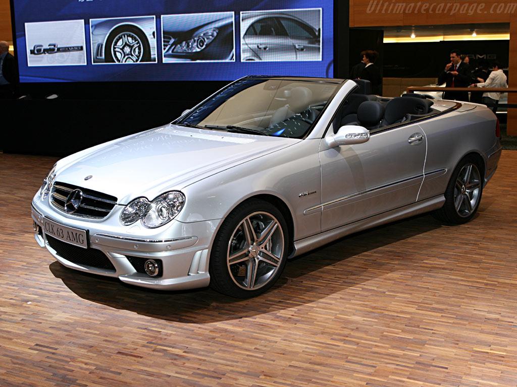 Mercedes benz clk 63 amg cabriolet 2006 geneva for International mercedes benz