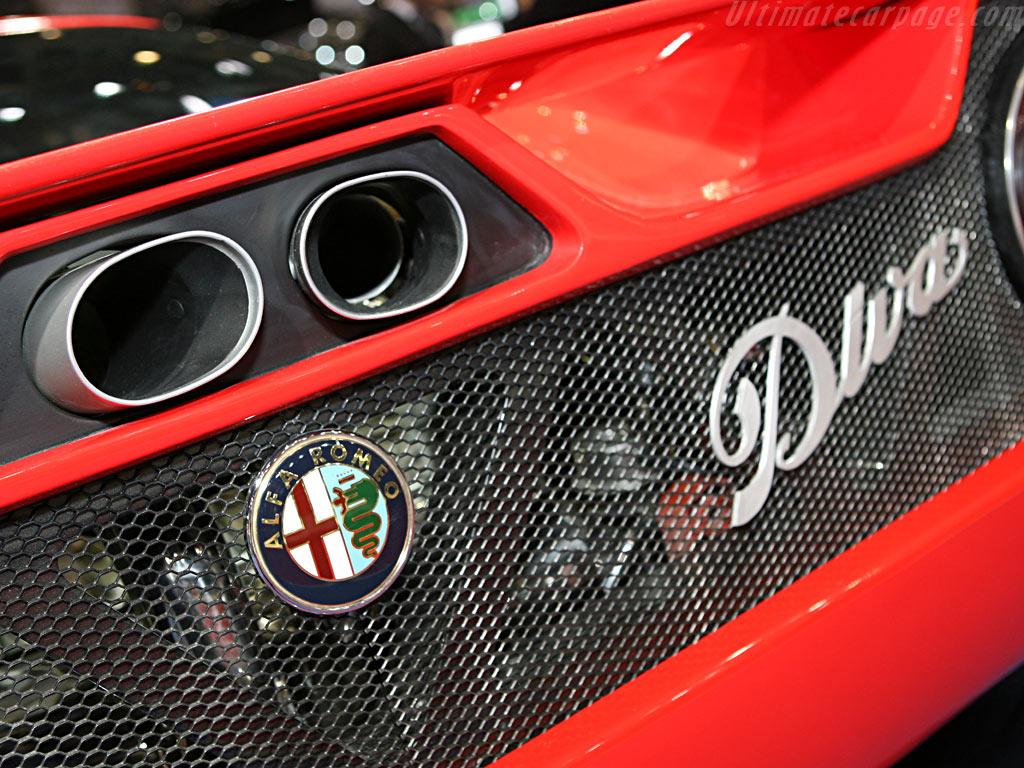 Alfa Romeo Diva Sbarro Concept    - 2006 Geneva International Motor Show