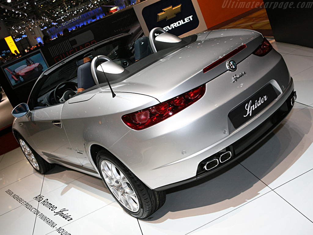 Alfa Romeo Spider    - 2006 Geneva International Motor Show
