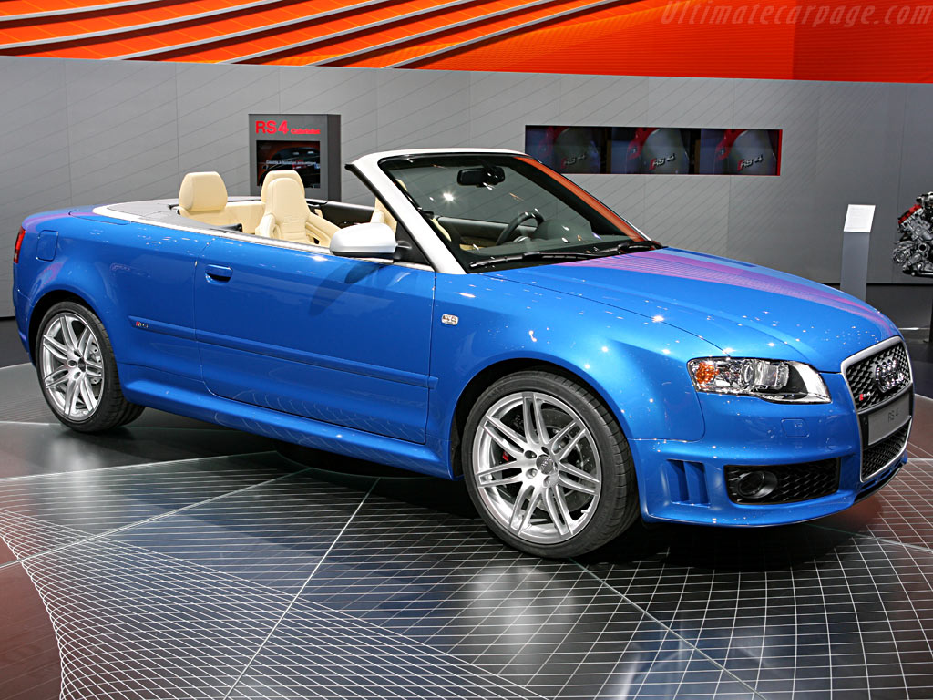 Audi RS4 Cabriolet    - 2006 Geneva International Motor Show
