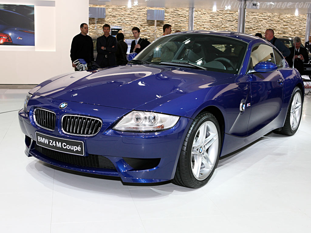 Bmw Z4 M Coupe 2006 Geneva International Motor Show