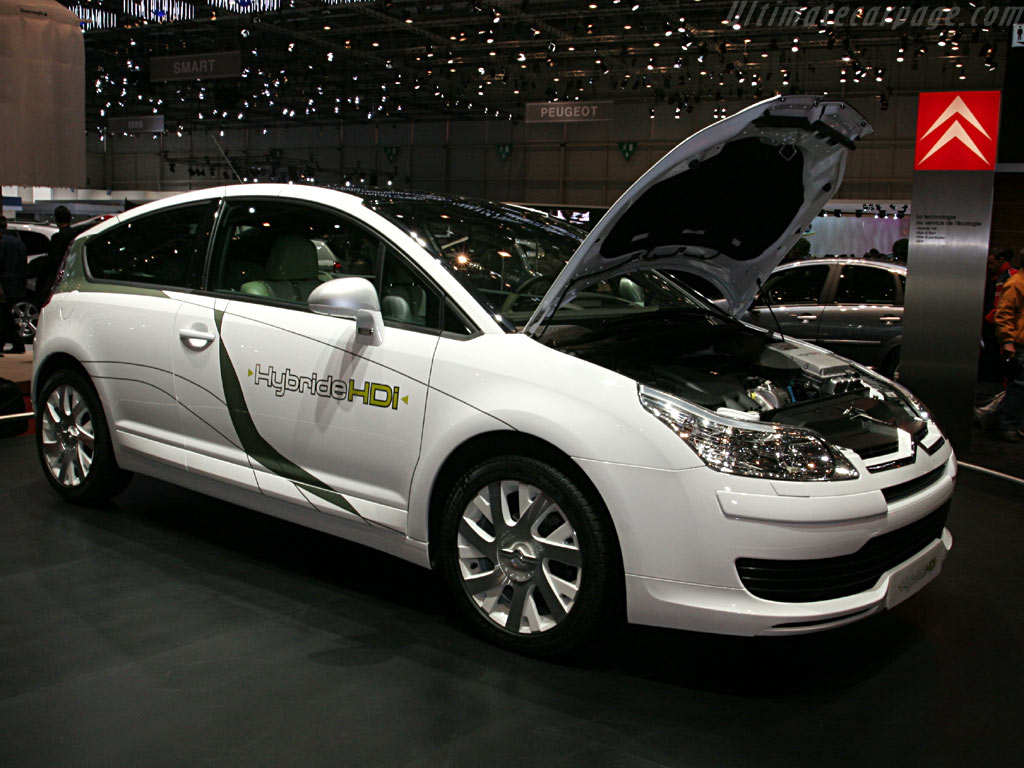 Citroën C4 HDI Hybrid    - 2006 Geneva International Motor Show