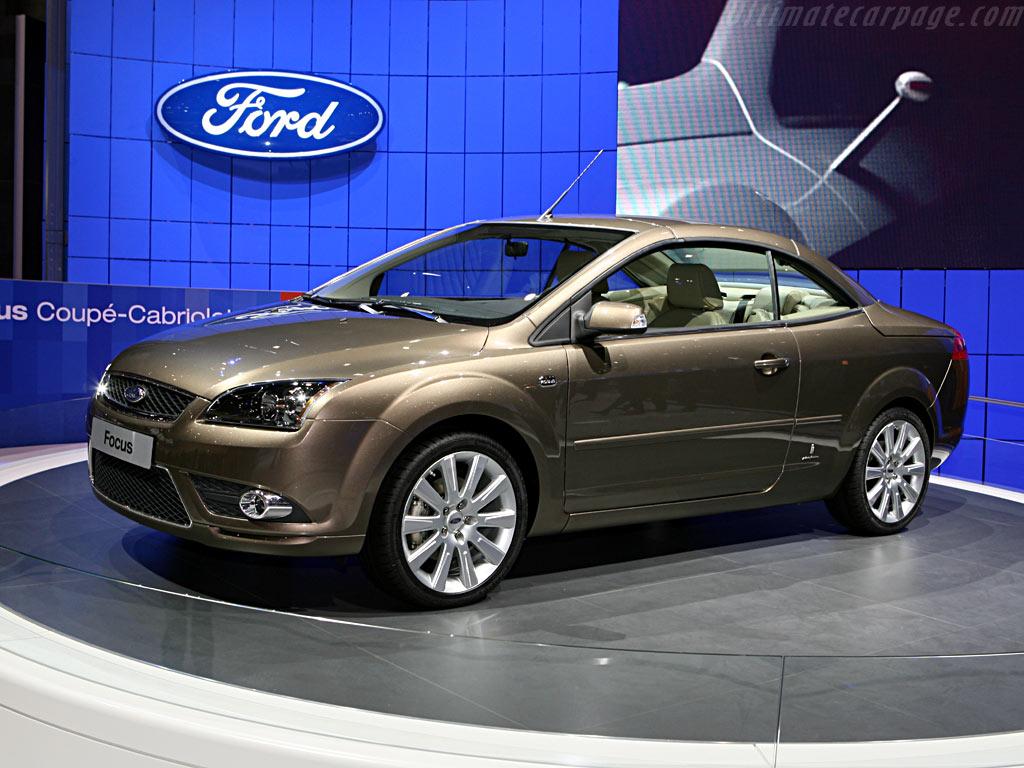 Ford Focus Convertible Coupe - 2006 Geneva International Motor Show
