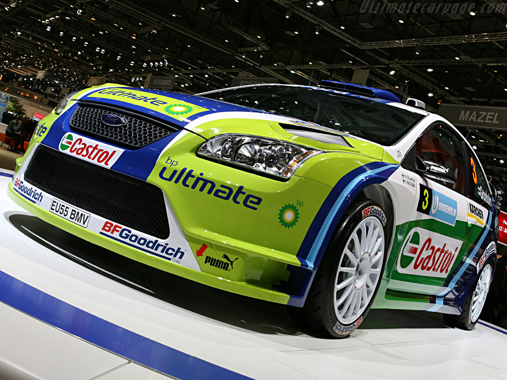 Ford Focus WRC    - 2006 Geneva International Motor Show