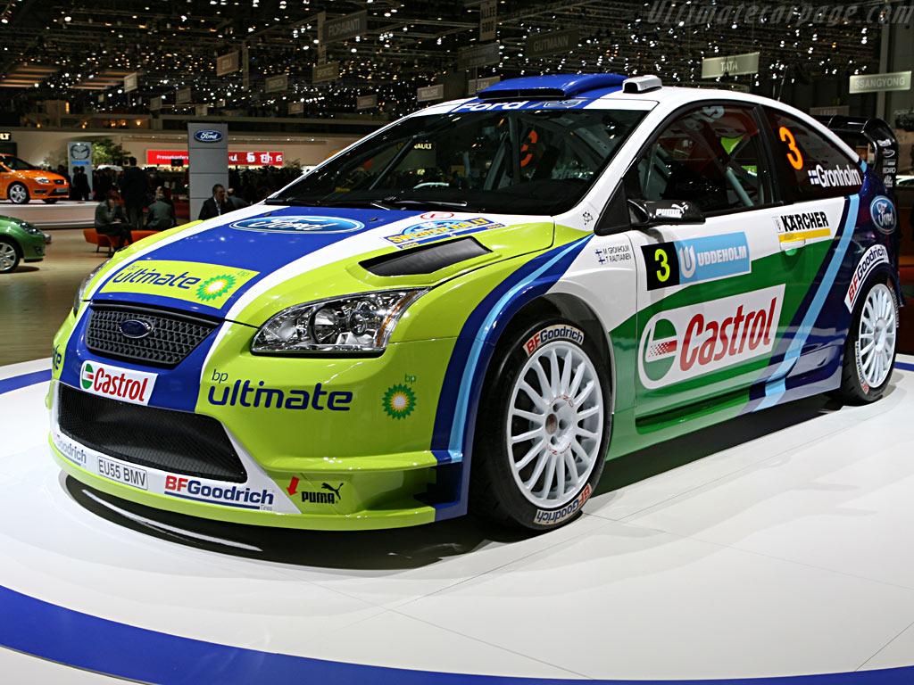 Ford Focus WRC    - 2006 Geneva International Motor Show