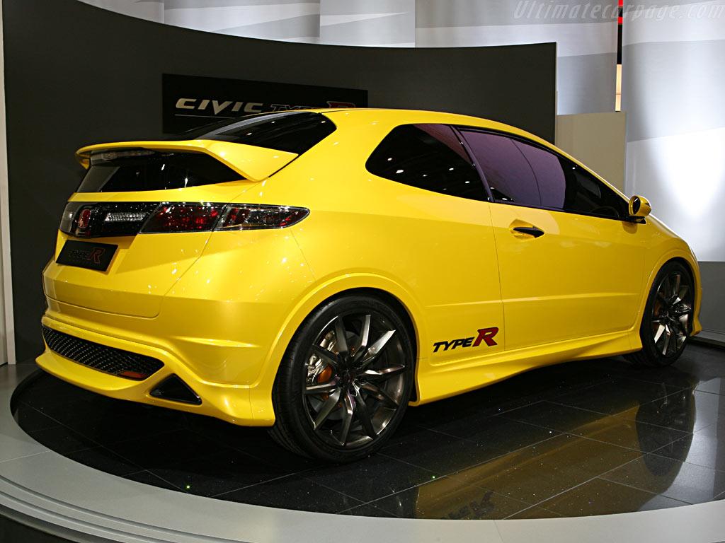 Honda Civic Type R Concept    - 2006 Geneva International Motor Show