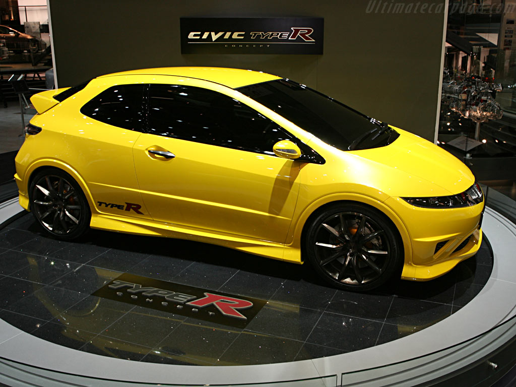 Honda Civic Type R Concept    - 2006 Geneva International Motor Show