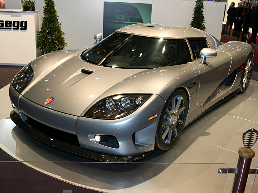 Koenigsegg CCX    - 2006 Geneva International Motor Show