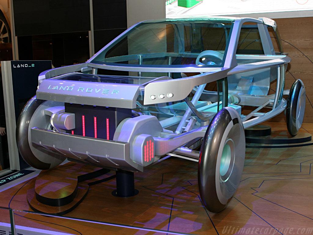Land Rover E-Terrain Concept    - 2006 Geneva International Motor Show