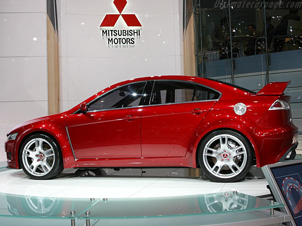 Mitsubishi Concept X    - 2006 Geneva International Motor Show
