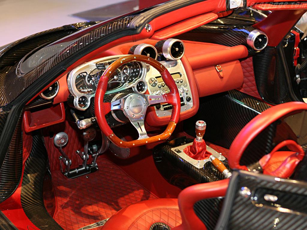 Pagani Zonda Roadster F    - 2006 Geneva International Motor Show