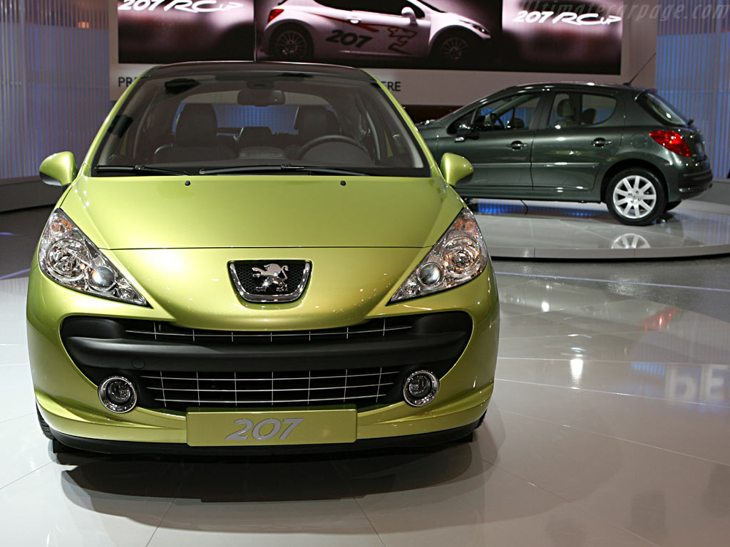 Peugeot 207    - 2006 Geneva International Motor Show