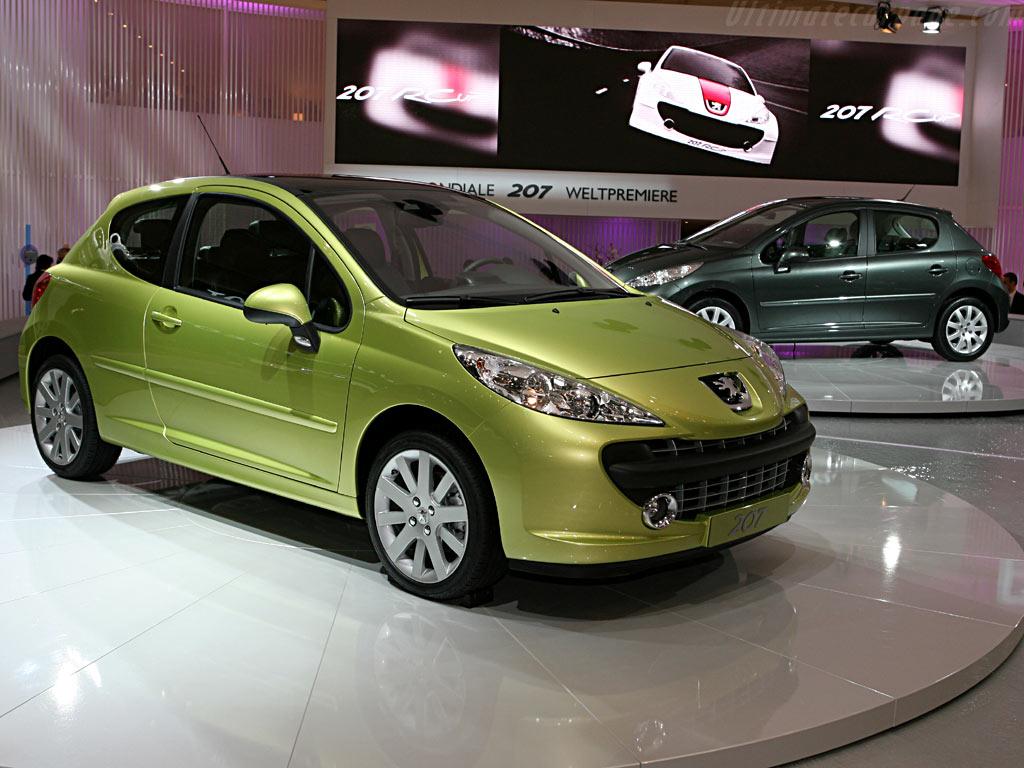 Peugeot 207    - 2006 Geneva International Motor Show