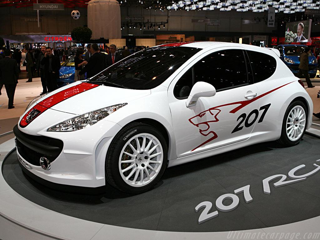 Peugeot 207 RCup Concept    - 2006 Geneva International Motor Show