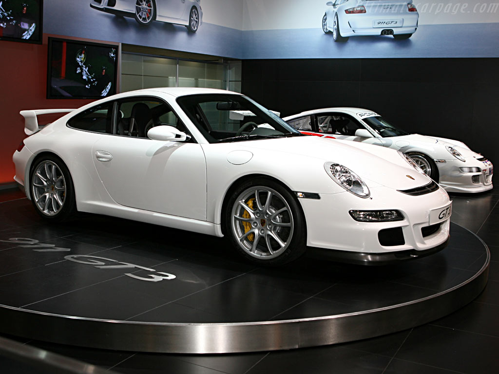 Porsche 997 GT3    - 2006 Geneva International Motor Show