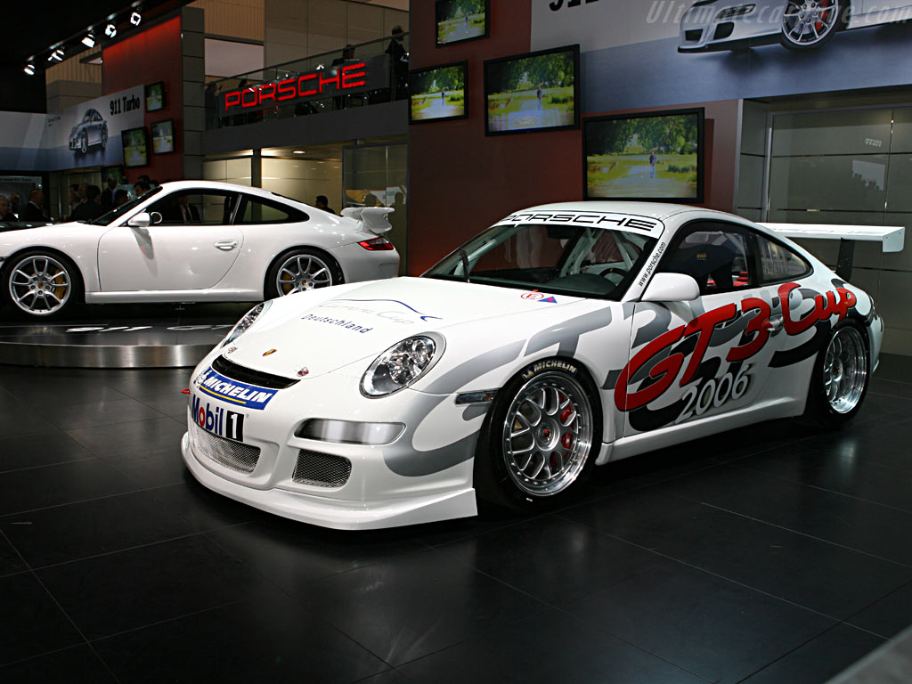 Porsche 997 GT3 Cup    - 2006 Geneva International Motor Show