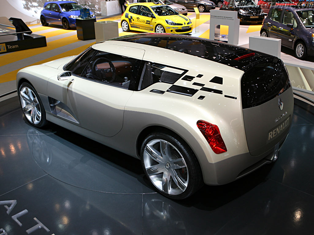 Renault Altica Concept    - 2006 Geneva International Motor Show