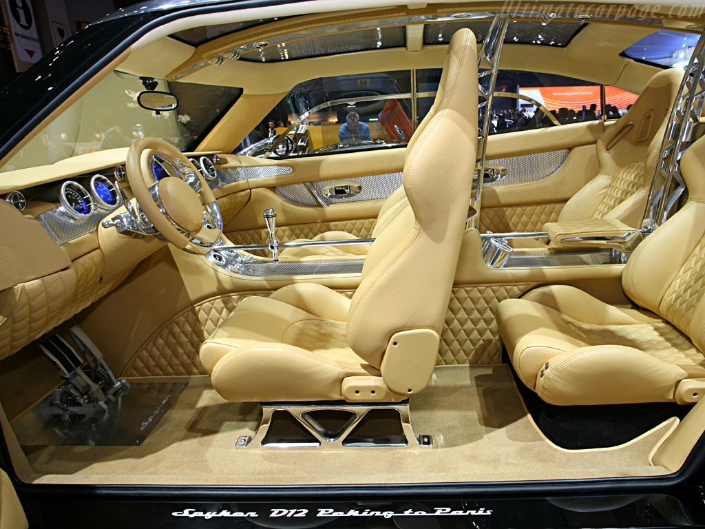 Spyker D12 Peking to Paris    - 2006 Geneva International Motor Show