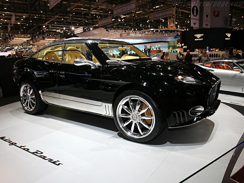 Spyker D12 Peking to Paris    - 2006 Geneva International Motor Show