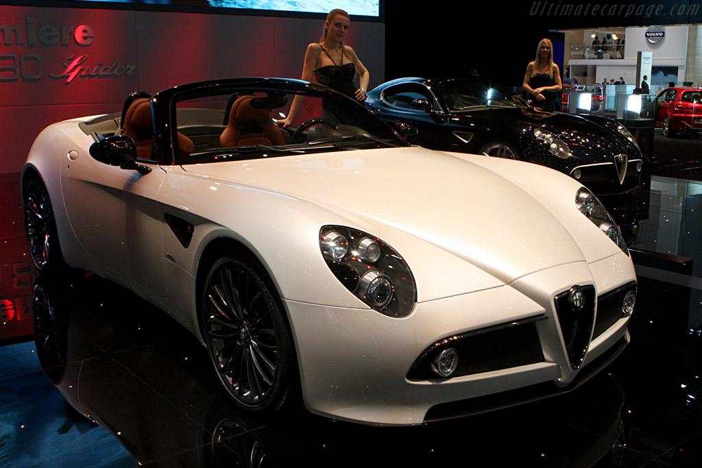 Alfa Romeo 8C Spyder    - 2008 Geneva International Motor Show