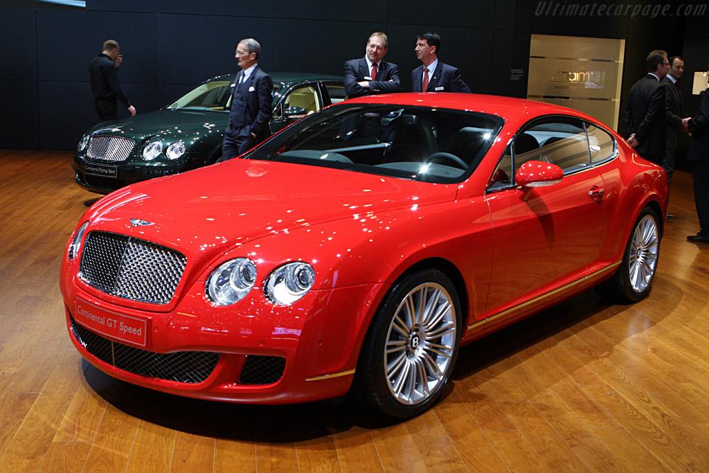 Bentley Continental GT Speed    - 2008 Geneva International Motor Show
