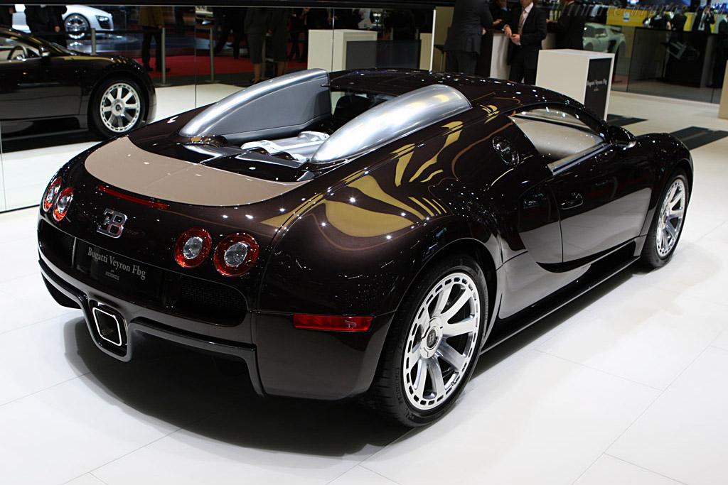Bugatti Veyron 16 4 Fbg 2008 Geneva International Motor Show