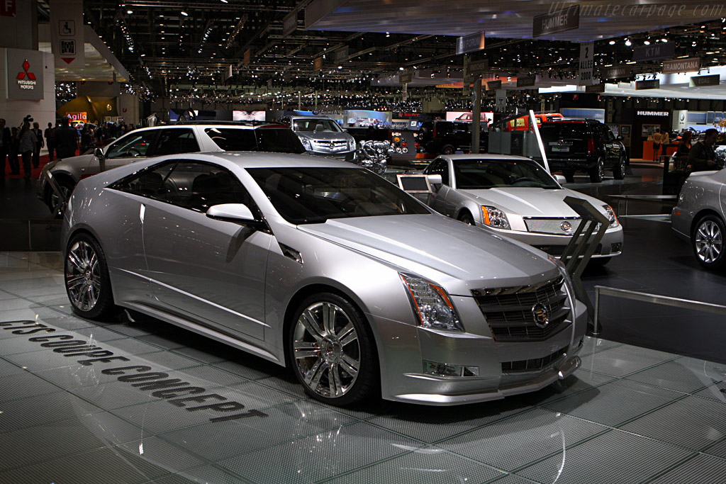 Cadillac CTS Coupe    - 2008 Geneva International Motor Show