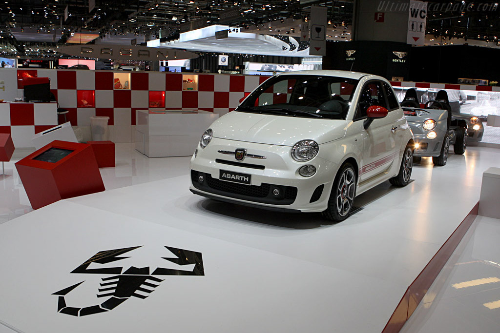 Fiat Abarth 500    - 2008 Geneva International Motor Show