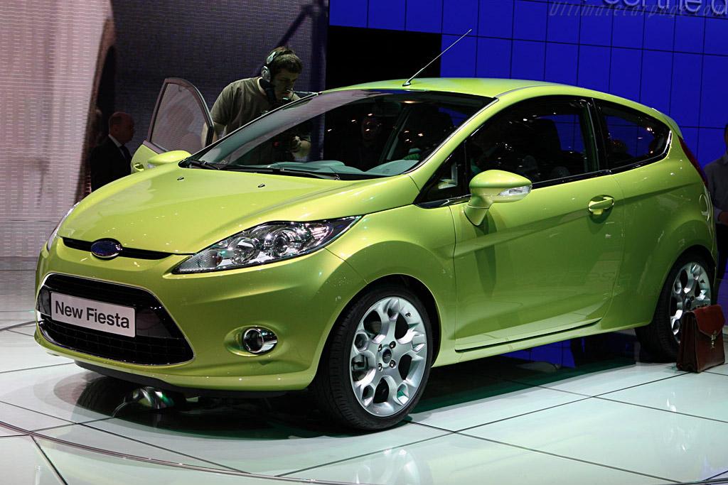 Ford Fiesta    - 2008 Geneva International Motor Show