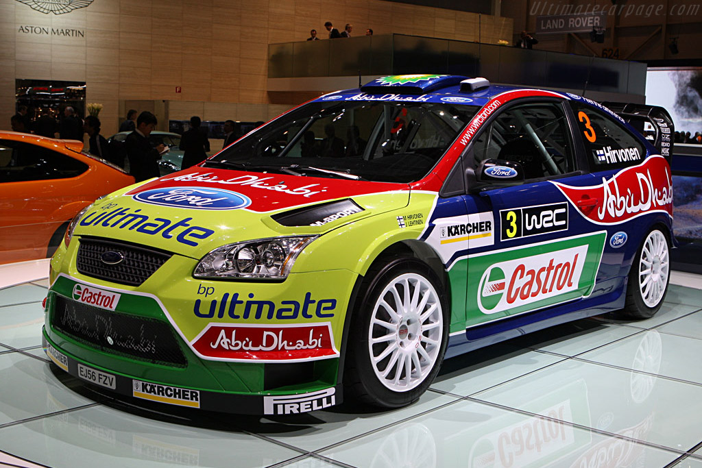 Ford Focus WRC    - 2008 Geneva International Motor Show