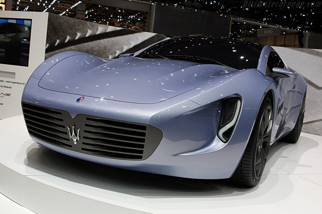 IED Maserati    - 2008 Geneva International Motor Show