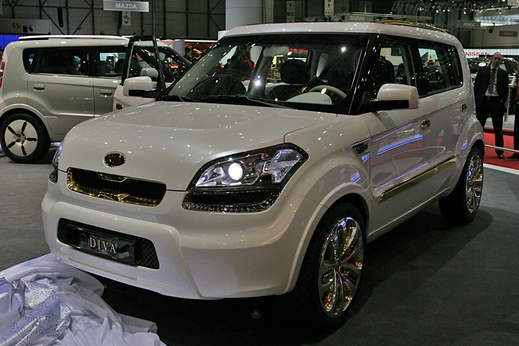 KIA Soul Concept    - 2008 Geneva International Motor Show