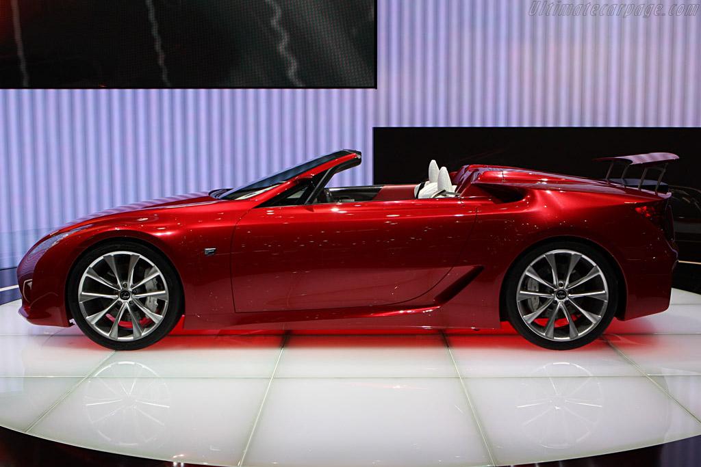 Lexus LF-A Roadster Concept    - 2008 Geneva International Motor Show