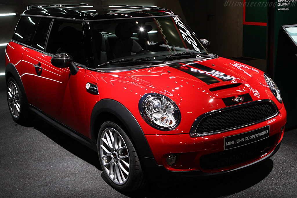 MINI Clubman Cooper S JCW    - 2008 Geneva International Motor Show