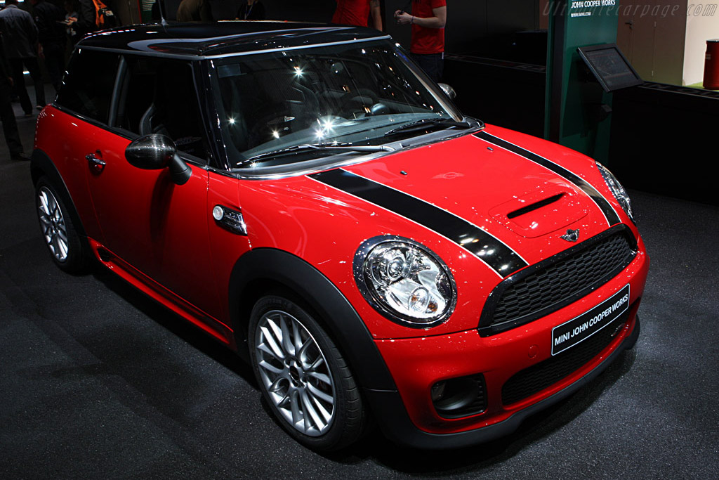 MINI Cooper S JCW    - 2008 Geneva International Motor Show