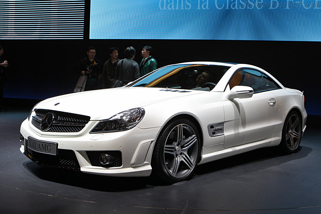 Mercedes-Benz SL 63 AMG    - 2008 Geneva International Motor Show