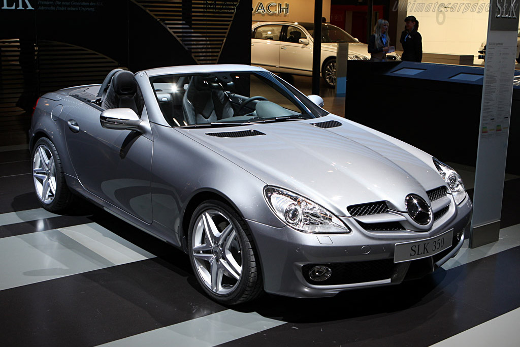 Mercedes-Benz SLK 350    - 2008 Geneva International Motor Show