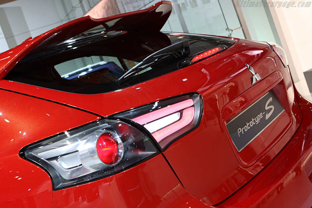 Mitsubishi Prototype-S    - 2008 Geneva International Motor Show