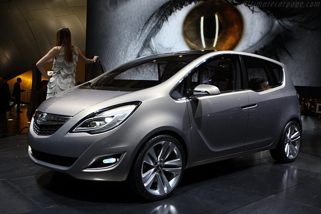 Opel Meriva Concept    - 2008 Geneva International Motor Show